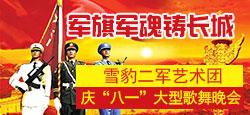 """雪豹二军艺术团庆""""八一""""晚会"""