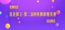 炫舞专区《我是舞王-第二届网络舞蹈精英赛》启动晚会