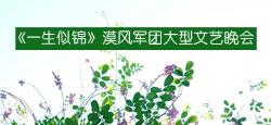 《一生似锦》漠风军团大型文艺晚会