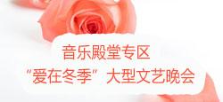 """音樂殿堂專區""""愛在冬季""""大型文藝晚會"""