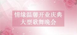 情缘温馨开业庆典大型歌舞晚会