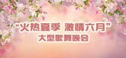 """""""火热夏季 激情六月""""大型歌舞晚会"""