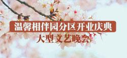 温馨相伴园分区开业庆典大型文艺晚会