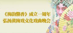 梅韵馨香成立一周年弘扬黄梅戏文化戏曲晚会