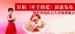 红陌《牵手的爱》作品展示暨世界残疾日大型歌舞晚会