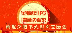 """再聚夕阳下""""金猪辞旧岁 瑞鼠送春来""""大型文艺晚会"""