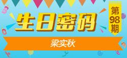 《生日密码》第98期:梁实秋