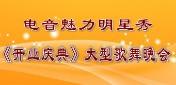 电音魅力明星秀开业庆典大型歌舞晚会