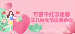 《万紫千红总是春》三八妇女节庆典晚会